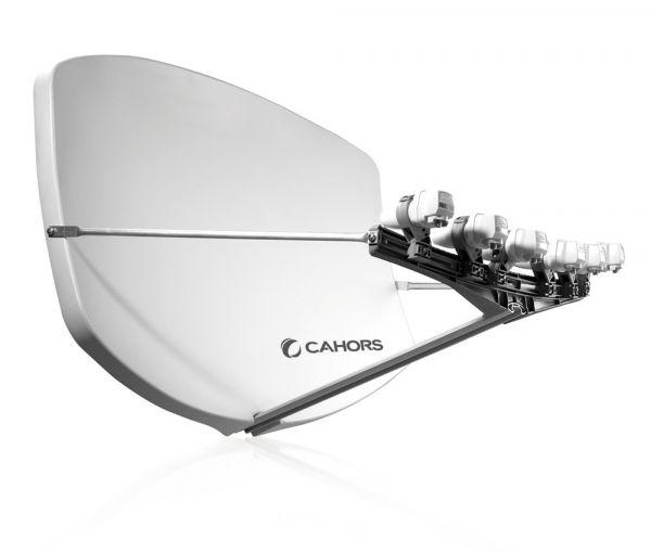 Visiosat BIG-BISATMulti-LNB Antenne grau