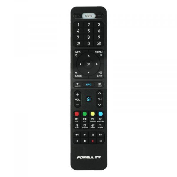 Formuler Original Fernbedienung für Formuler IPTV-Boxen Z7+ 5G Z8 ZX 5G S Turbo und mehr Schwarz