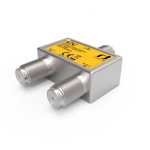 Inverto Unicable II 2-Wege Combiner, 5-2400MHz - IDLU-UCM1O1-OOO2O-OPP