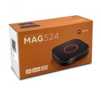 Preview: MAG 524w3 IP TV Internet Streamer HEVC H.265 4K UHD Dual Wifi 60FPS Linux USB 3.0 LAN HDMI