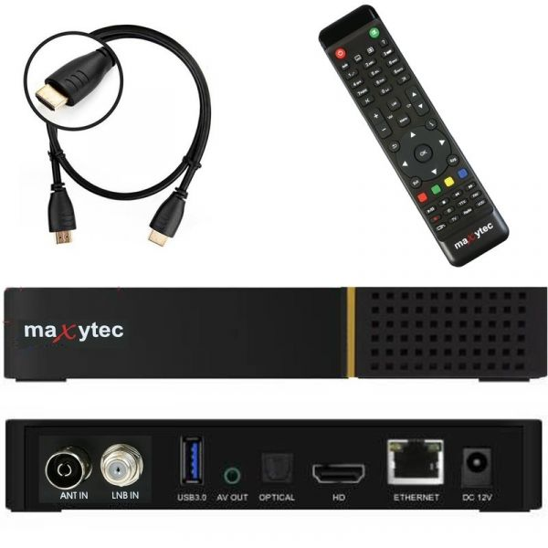 Maxytec Multibox SE WIFI 4K UHD 1x DVB-S2 & 1x DVB-C/T2 Linux + Android Combo Receiver