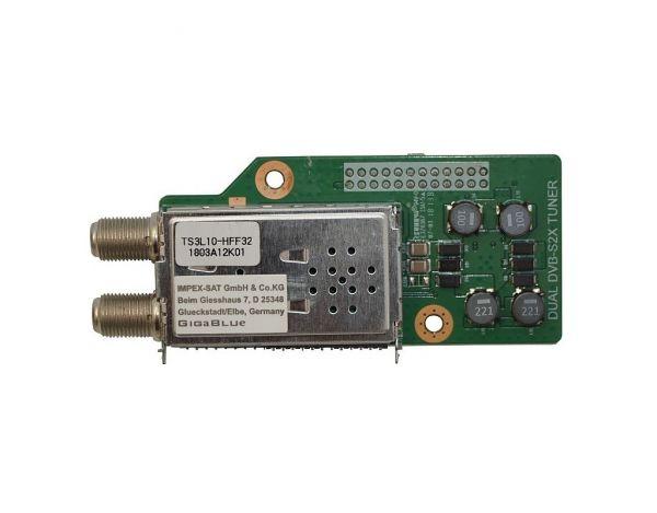GigaBlue DVB-S2X Multistream Dual Tuner Quad UHD 4K, UE UHD 4K, X2 HD