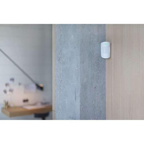AJAX Alarmzentrale Hub Kit GSM LAN APP Steuerung Starter Paket Weiss inkl. Dahua CAM