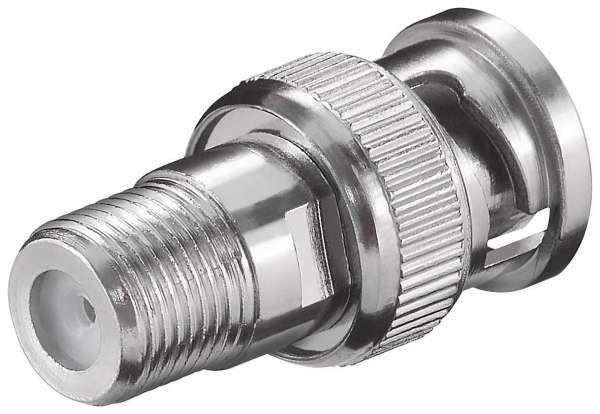 BNC-Stecker auf F-Kupplung Adapter
