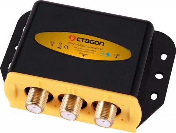OCTAGON OPTIMA DiSEqC 2/1 ODS 21-02 HQ Gold