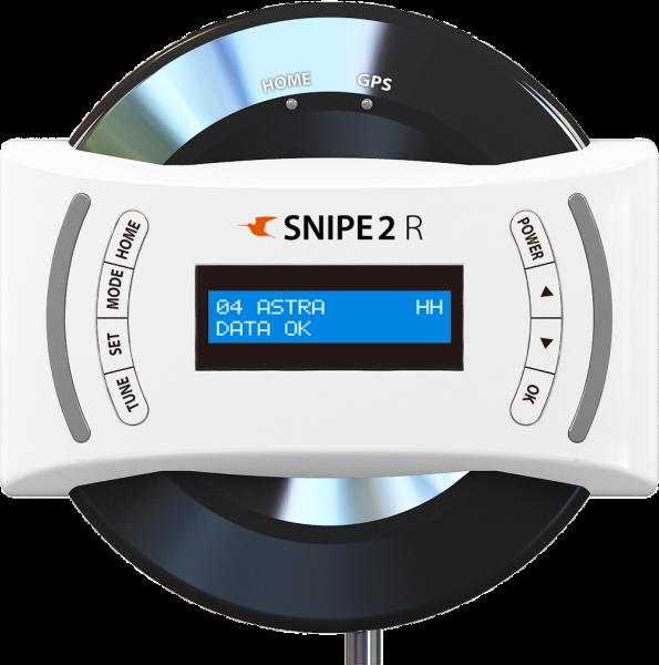 Selfsat Snipe 2 R Twin mit Fernbedienung GPS Vollautomatische Antenne AutoSkew Sat System