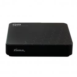 Xsarius Q8 V2 - 4K UHD OTT Media Streamer,Premium TV, WLAN, Bluetooth, Android 8.0 Oreo