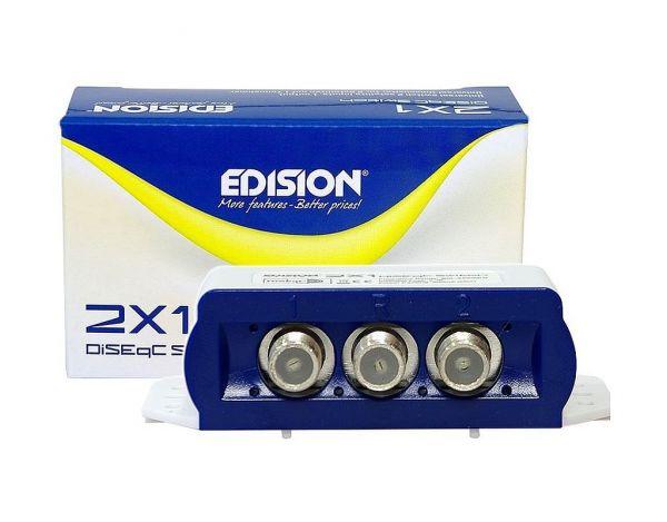 Edision DiSEqC Schalter Switch 2/1