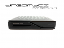 Preview: Dreambox DM520 mini HD 1x DVB-S2 Tuner PVR ready Full HD 1080p H.265 Linux Receiver