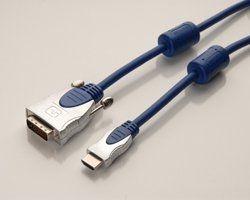 HIGH-END 3,0 m HDMI auf DVI-D Stecker 19 Pin