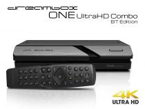 Vorschau: Dreambox One Combo Ultra HD BT 1x DVB-S2X / 1xDVB-C/T2 Tuner 4K 2160p E2 Linux Dual Wifi H.265