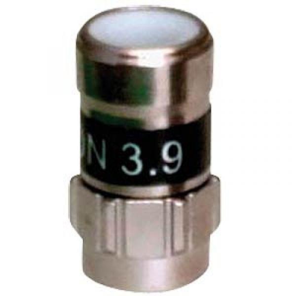 Cabelcon F-59 3.9 Self Install F-Kompressionsstecker schwarz RG 59