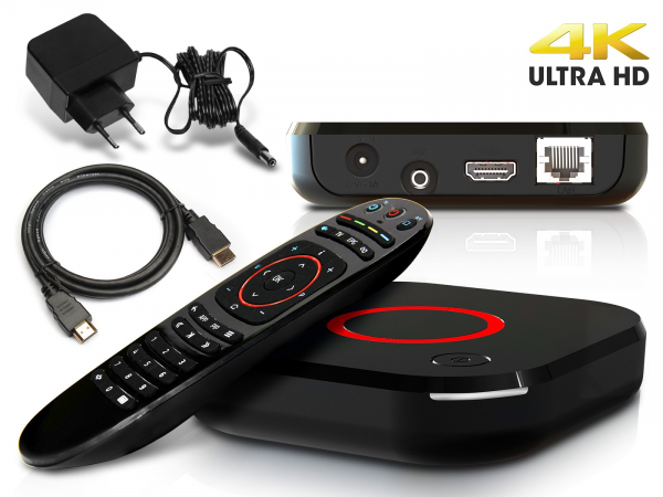 MAG 424 IPTV Receiver SET TOP BOX 4K UHD HEVC H.265 Multimedia Player