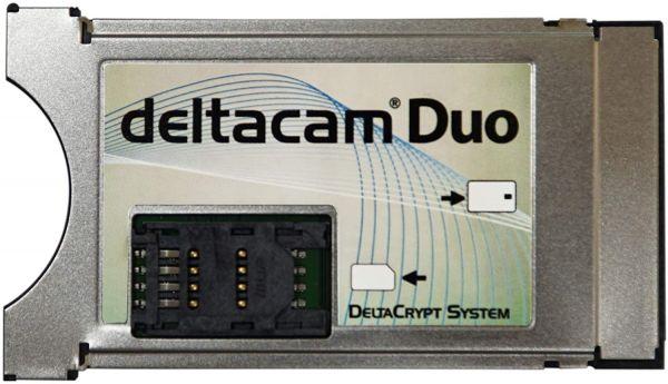 Deltacam Duo Twin CI Modul mit DeltaCrypt-Verschlüsselung 3.0 incl. Programmer