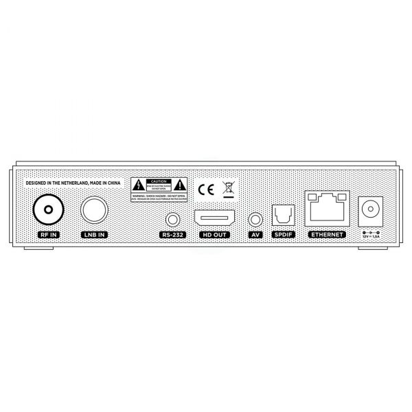 Xsarius Sniper HD Combo H.265 Hybrid-Satellitenempfänger & IPTV / OTT Set-Top Box