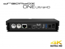 Vorschau: Dreambox One Ultra HD 2x DVB-S2X MIS Tuner 4K 2160p E2 Linux Dual Wifi H.265 HEVC