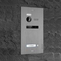 Preview: Balter EVO Silber Video Türsprechanlage Quick-Talk 2-Draht BUS Komplettsystem für 1 Teilnehmer