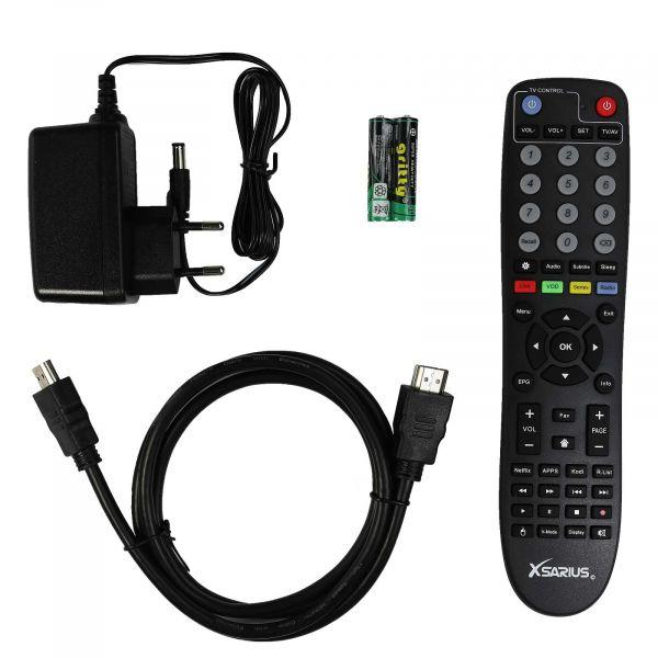 Xsarius Q2 OTT 4K UHD IPTV Android 7.1 Player H.265 HEVC Wlan MyTV App