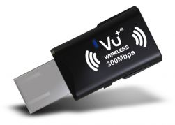VU+® Wireless USB Adapter 300 Mbps incl. WPS Setup