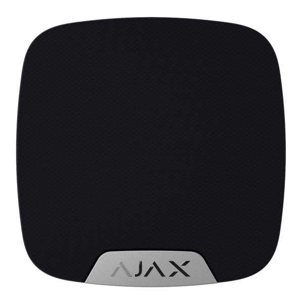 AJAX Funk Innensirene drahtlose Sirene mit bis zu 105 dB HomeSiren Schwarz