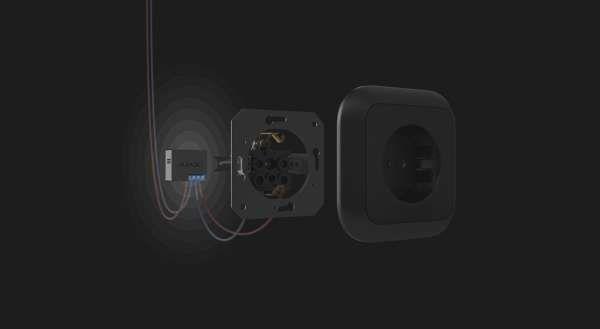 AJAX Funk Fernsteuerung von Elektrogeräten bis 3 kW WallSwitch