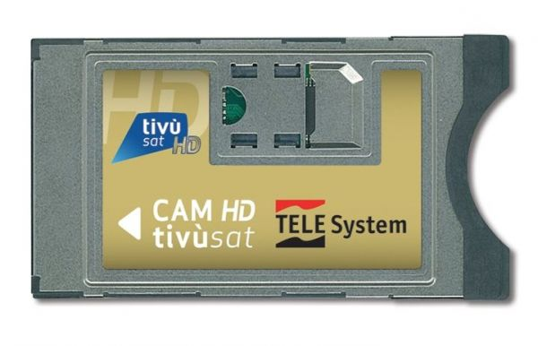 TivuSat Telesystem CI+ Smarcam + Smartcard Gold HD version 4K