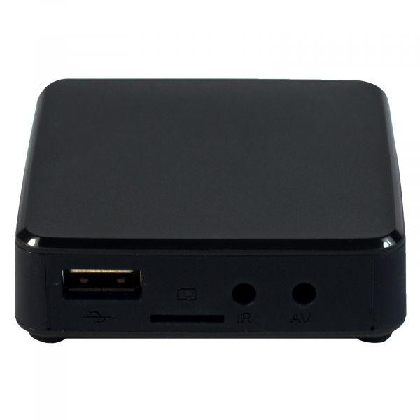TVIP S-Box v.615BT IPTV 4K HEVC UHD Android 8.0 Linux Multimedia Stalker Streamer 2.4/5GHz Wlan