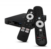 Preview: VU+ YAY GO PRO Android TV HIGH-END 4K UHD Streaming Box Android 10.0 und Chromecast integriert