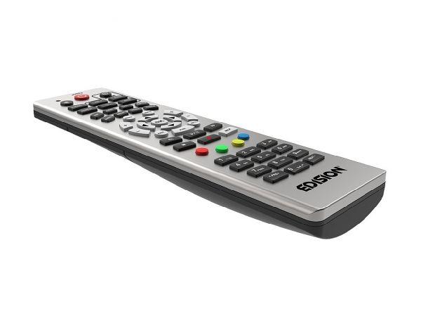 Edision OS nino pro DVB-S2X + DVB-T2/C Full HD Receiver silber