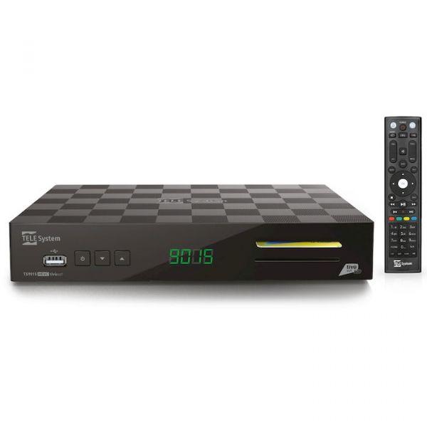 Telesystem TS9015 / Fuba ODE 715 HD Tivu Full HD Sat Receiver + Tivusat Karte