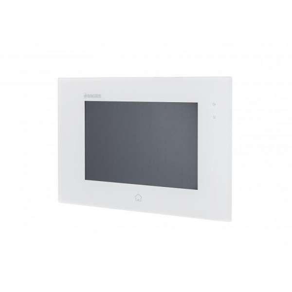 """BALTER JUNO 7 Videostation Touchscreen Bildschirm 2-Draht BUS Technologie Plexiglas Interkom Weiß"""""""