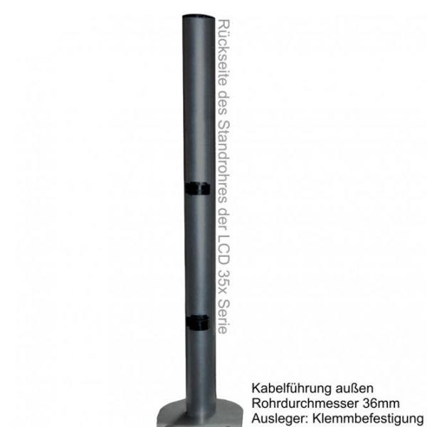 DMP LCD 351 D STAND -schwarz-