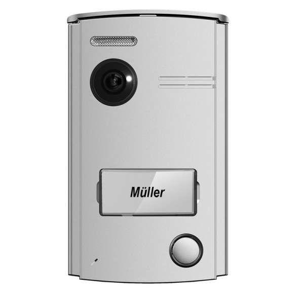 NeoLight Porta7 2-Draht Video-Türsprechanlage 7 Touch-LCD Türstation mit 120° Weitwinkel