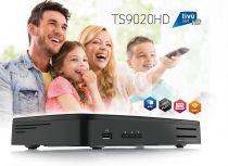 Preview: Telesystem TS 9020 HD Twin Sat-Receiver USB PVR WiFi inkl. Tivusat HD Karte