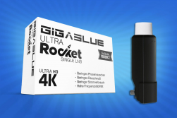 Gigablue Ultra Rocket Single Multifeed LNB 40mm Feed 0.1dB Full HD