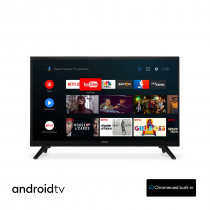 Preview: Hitachi 24HE2202 24 Zoll 61cm Smart AndroidTV Wifi Bluetooth HD LED DVB-S2/C/T2 - 12 und 220 Volt