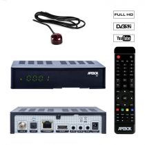Preview: Apebox S2 Full HD 1080p H.265 LAN DVB-S2 Sat Multimedia IP Receiver