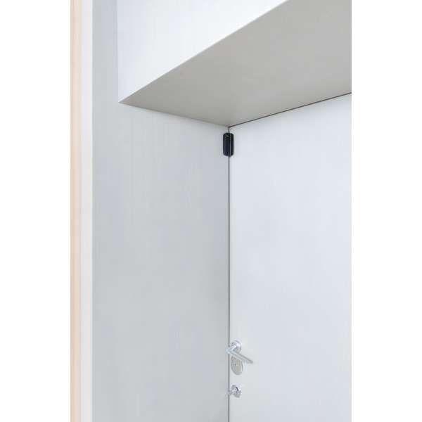 AJAX Funk Tür- & Fensteröffnungsmelder DoorProtect Plus Stoß- & Neigungserkennung Schwarz