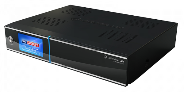 Gigablue UHD Quad 4K 2xDVB-S2 FBC ULTRA HD E2 Linux Receiver ohne HDD