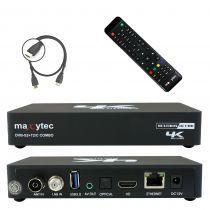 Vorschau: Maxytec Multibox 4K UHD 2160p E2 Linux + Android DVB-S2 Sat & DVB-T2/C Combo Receiver