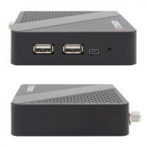 Preview: OCTAGON SX87 Full HD IP H.265 Linux HDMI USB LAN DVB-S2 Sat IP Receiver Schwarz