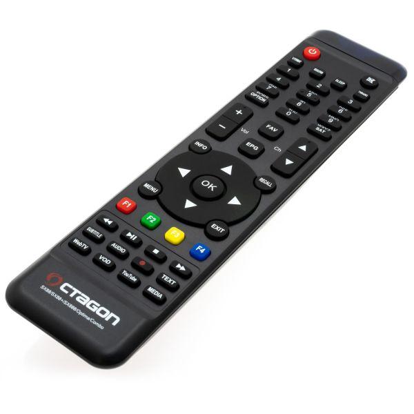 OCTAGON SX88+ SE WL CA HD HEVC FULL HD STALKER IPTV MULTISTREAM WLAN SAT DVB-S2 RECEIVER