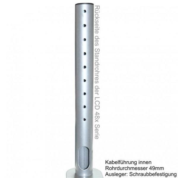 """DMP LCD Monitor-Tischhalter LCD 481 S für 13-27"""" silber"""