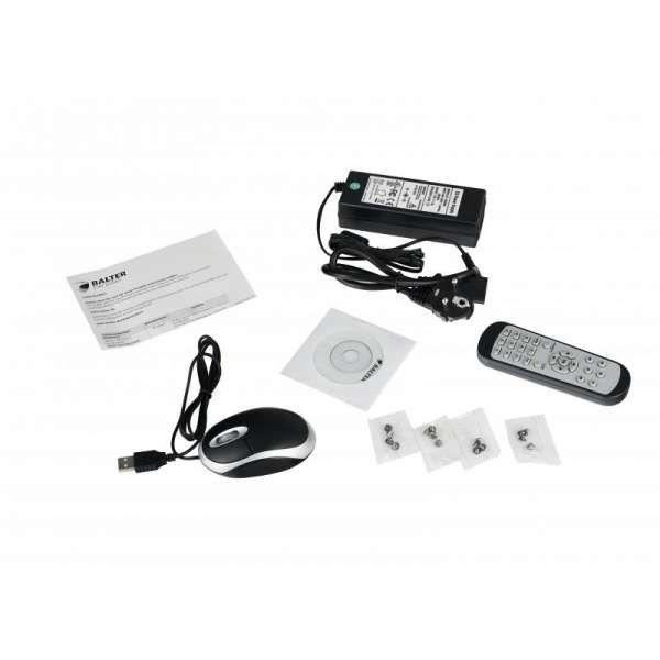 BALTER BHR-4104C 4 IP Kanal Hybrid HD-TVI-AHD-CVI Kamera Rekorder H.264 5MP Audio P2P HDMI 4K