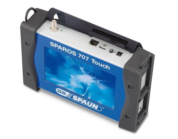Spaun SPAROS 707 Touch DVB-S/S2 Messgerät inkl. Transportkoffer