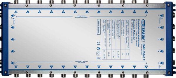 Spaun SMK 55243 F SAT-Multischalter 24 Teilnehmer / 5 Eingänge