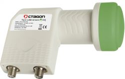 Octagon Twin Green PLL HQ OTLG LNB 0.1dB