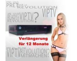 VIPTV Box Verlängerung für 12 Monate
