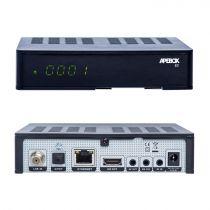 Preview: Apebox S2 Full HD H.265 LAN DVB-S2 Sat Receiver mit HD TIVUSAT Karte aktiviert