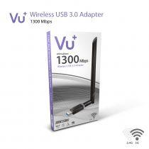 Vorschau: VU+® Dual Band Wireless USB 3.0 Adapter 1300 Mbps inkl. 6 dBi Antenne
